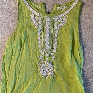Banana Republic like green tank
